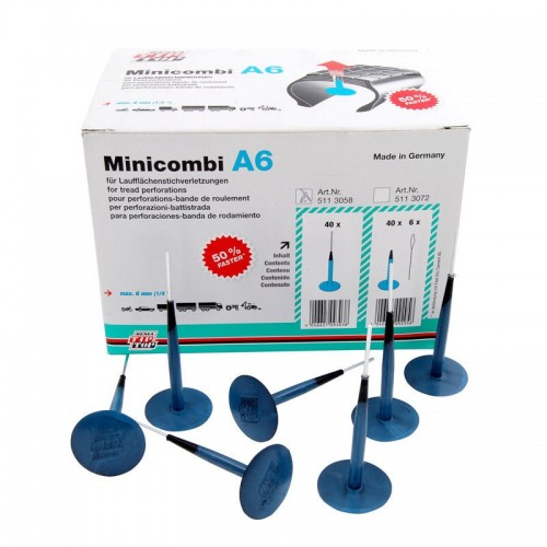 Minicombi A6 Refill Pack With Pilot (40Pcs)
