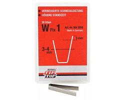 W FIX 1 TYRE REGROOVER BLADE 20PCS/BOX