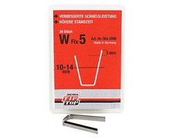 W FIX 5 TYRE REGROOVER BLADE 20PCS/BOX