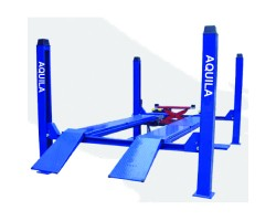 4TON FOUR POST LIFT FOR ALIGNMENT BLUE  230/1/50