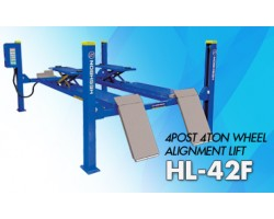 4TON 4 POST LIFT FOR WHEEL ALIGNMENT USE BLUE 415/3/50