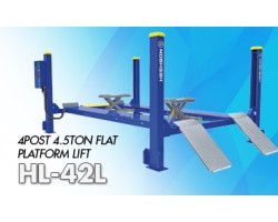 4 POST 4.5TON FLAT PLATFORM LIFT