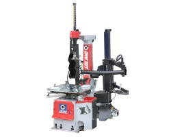TYRE CHANGER RED 2V 415/3/50 C/W 4 CYLINDER TURNTABLE