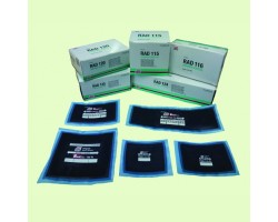 120TL RADIAL TYRE PATCHES 80X125MM 10PCS/BOX