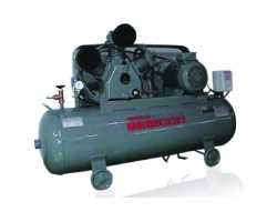 10HP HORIZONTAL AIR COMPRESSOR 415V/3PH/50HZ 300L TANK 14BAR