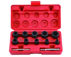 "3/8"", 1/2"" DR. TWIST SOCKET SET"